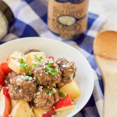 Slow Cooker Apple Cider Meatballs