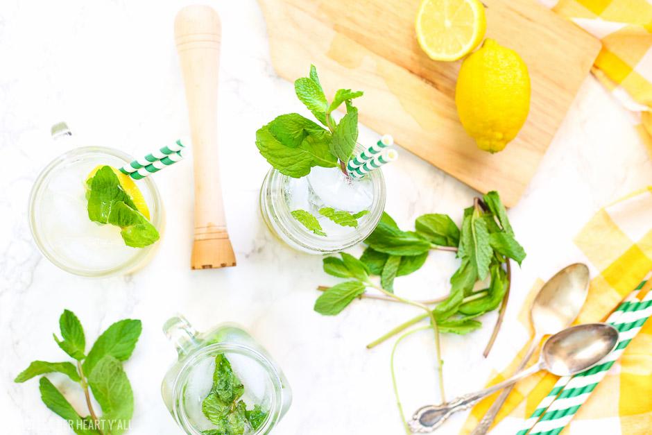 Lemonade Mint Julep