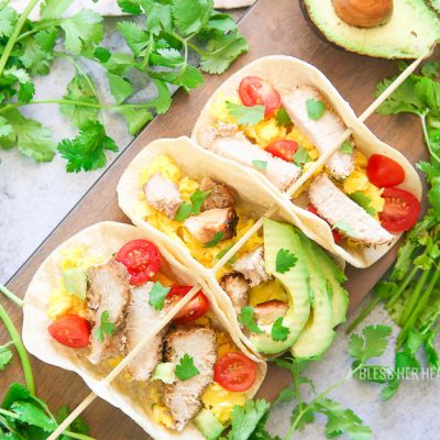 Fresh Pork Breakfast Tacos