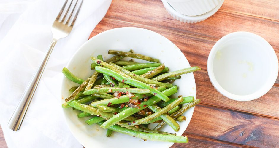 Quick Teriyaki Green Beans