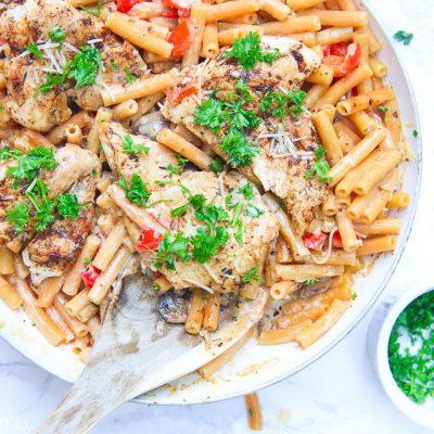 Cajun Chicken Pasta (Gluten Free)
