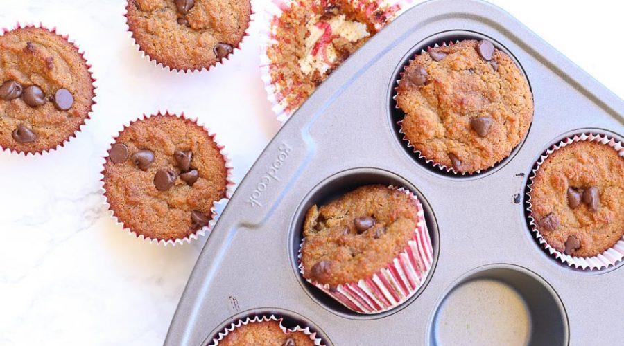 chocolate chip muffin recipe gluten free dairy free image 7
