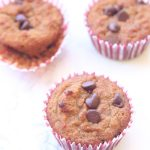 chocolate chip muffin recipe gluten free dairy free image 3