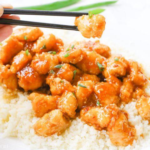 One-Pan Baked Gluten-Free Sticky Honey Garlic Chicken