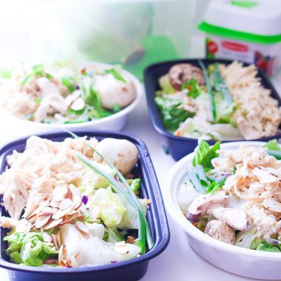 Sesame Ginger Chicken Chopped Salad Recipe