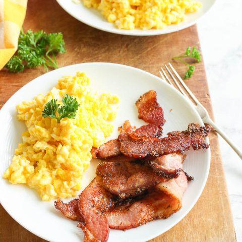 best air fryer bacon recipe
