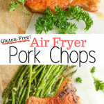Air Fryer Pork Chops are delicious and gluten-free!