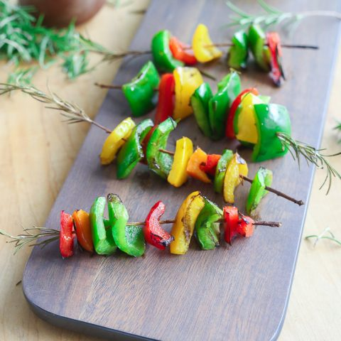 grilled rosemary skewers