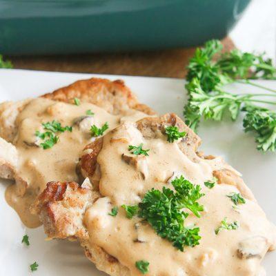 Instant Pot Pork Chops with Gravy