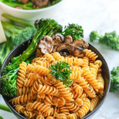 Pasta Bowl with Parmesan & Broccolini