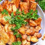 Air Fryer Potatoes image gluten free paleo Whole30