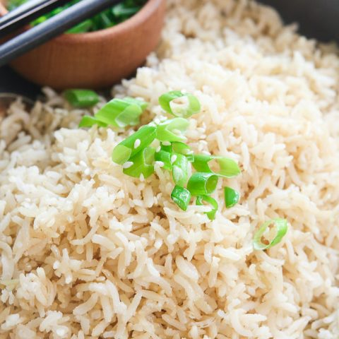 easy pressure cooker brown rice in instant pot