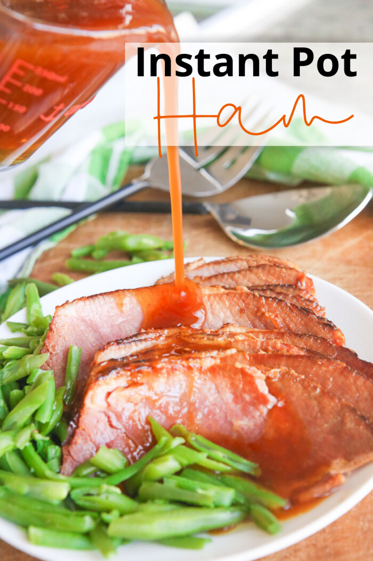 Instant Pot Ham combines the ease of the pressure cooker with the deliciousness of a perfectly tender, juicy ham, all in under 10 minutes! Create a sweet and savory homemade glaze from the extra liquids in the Instant Pot too for the ultimate 1-pot gluten free dish!