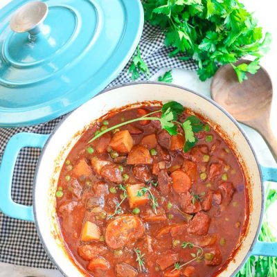 Gluten-Free Dutch Oven Beef Stew (Slow Cooker & Instant Pot options)