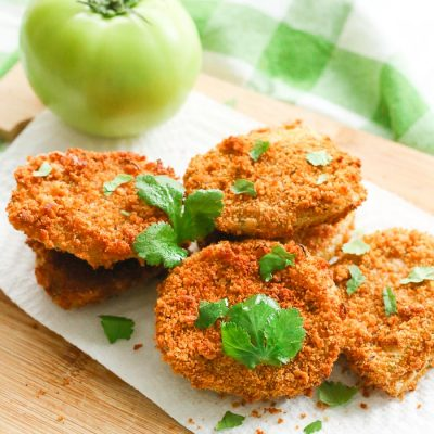 Gluten-Free Fried Green Tomatoes: Air Fryer and Skillet Options!