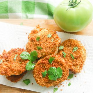 Air Fryer Gluten-Free Fried Green Tomatoes
