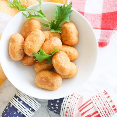 Crispy Corn Dogs in Air Fryer