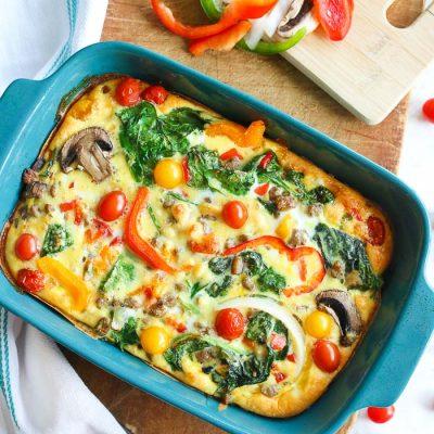 Gluten-Free Breakfast Casserole