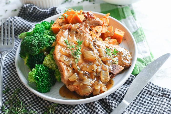 Instant Pot Pork Chops and Potatoes