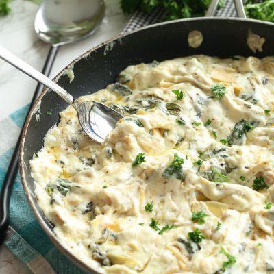 Spinach Artichoke Dip (No Mayo)