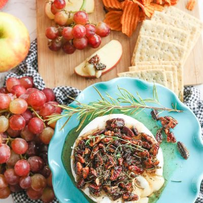 Easy Fall Baked Brie