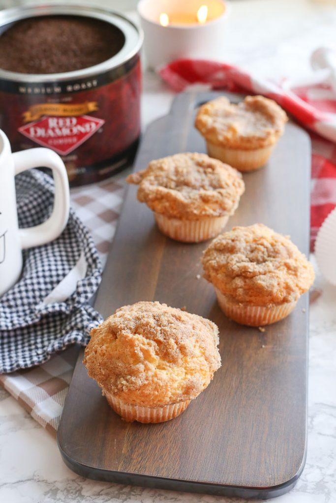 Gluten Free Coffee Cake Muffins