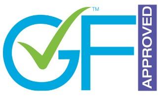 certified logo for Food Service Establishments from Gluten-Free Food Program