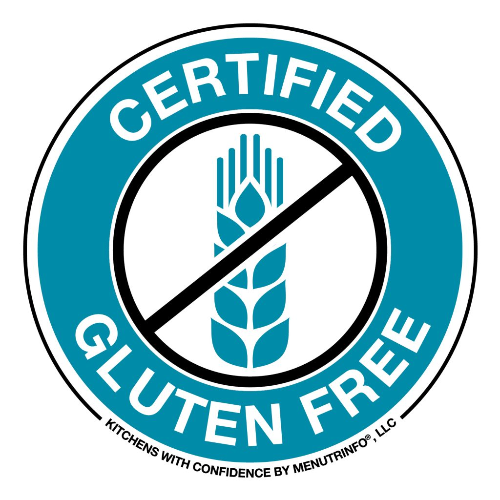 kitchen with confidence Certified Gluten Free logo